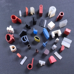 Electrically Conductive Silicone Extrusion