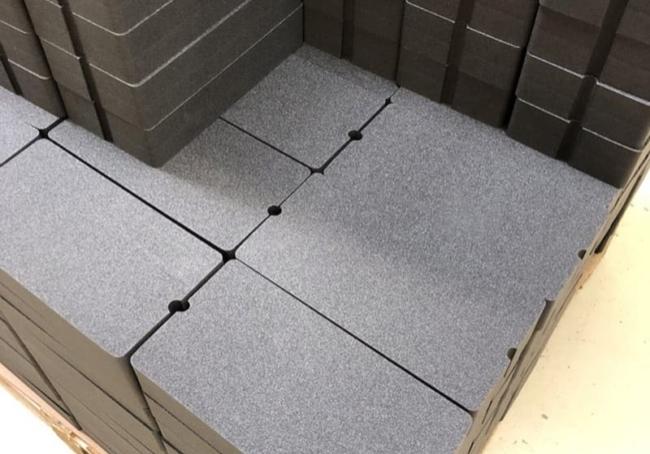 Flame Retardent Polyethylene Foam Fabrication