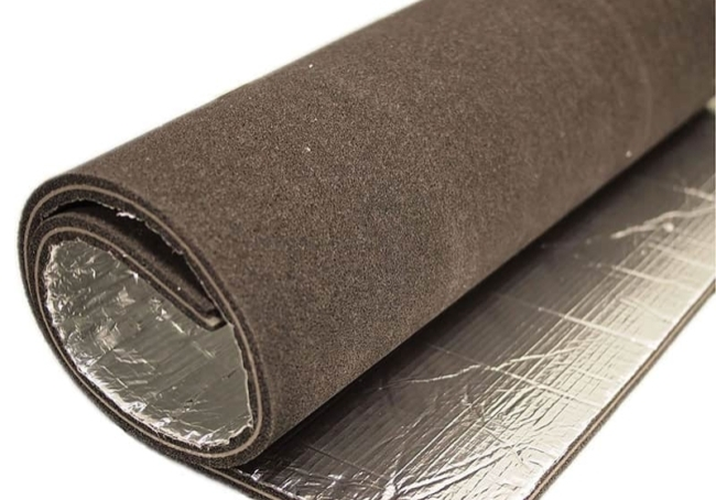 Foil Faced Acoustic Foam Rolls