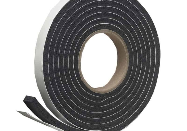 Foil Face Acoustic Foam Strip