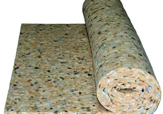 Reconstitued Foam Roll