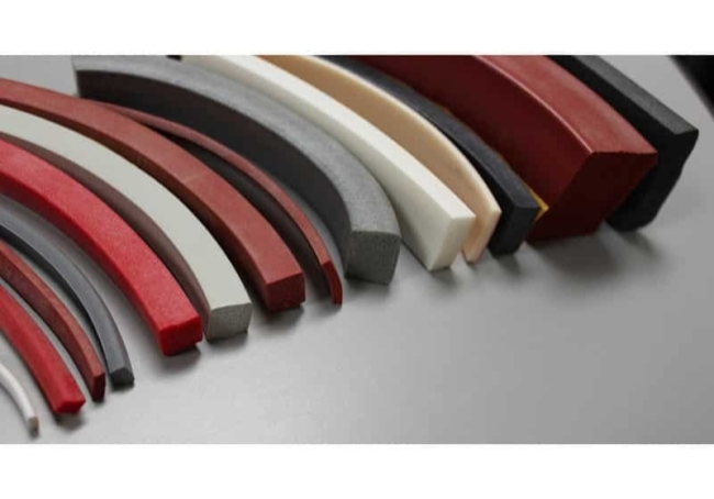 Reinforced Silicone Rubber Seals