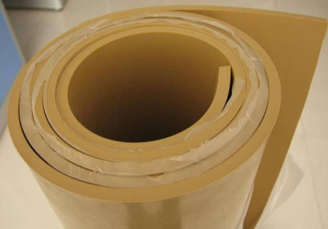 Shotblast Rubber Strip